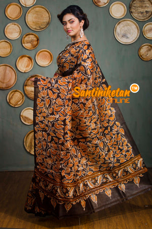 Hand Batik On Murshidabad Silk SN20182550
