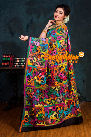 Kantha Stitch Saree Sn2018974