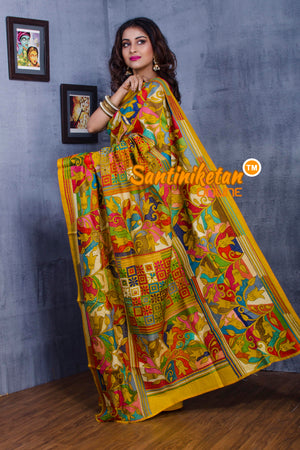 Kantha Stitch Saree SN20181021
