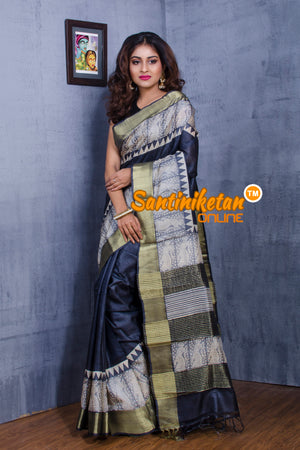 Tussar Silk Saree SN20181065