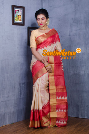 Tussar Silk Saree SN20181066