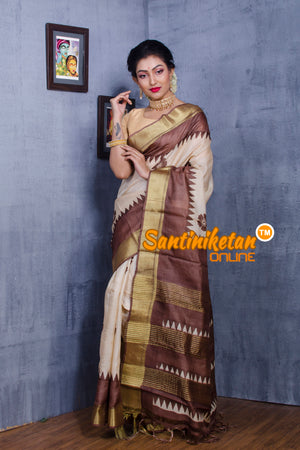 Tussar Silk Saree SN20181067