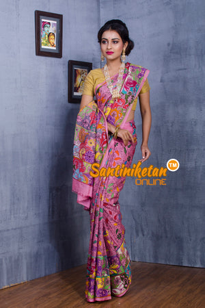 Kantha Stitch Saree SN20181104