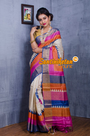 Tussar Silk Saree SN20181014