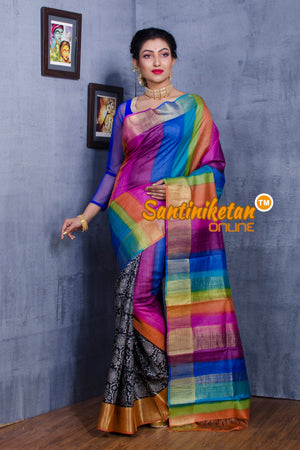 Tussar Silk Saree SN20181071