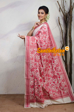 Kantha Stitch Saree SN20181145