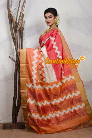 Tussar Silk Saree SN20181177