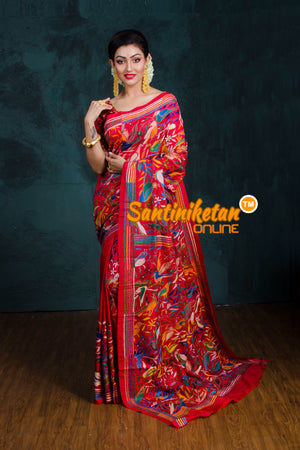 Kantha Stitch Saree SN20181235