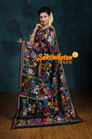 Kantha Stitch Saree SN20181237
