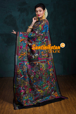 Kantha Stitch Saree SN20181239