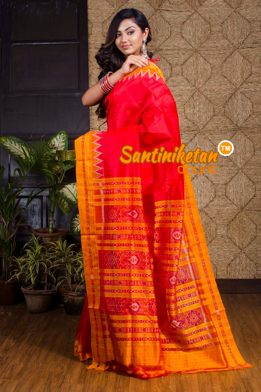 Traditional Ikkat Silk Saree SN20190064