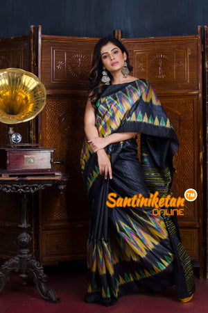 Traditional Gopalpur Tussar Ghicha Silk Saree SN20190561