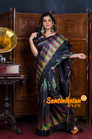 Traditional Gopalpur Tussar Ghicha Silk Saree SN20190564