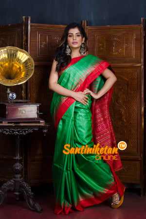 Traditional Gopalpur Tussar Ghicha Silk Saree SN20190567
