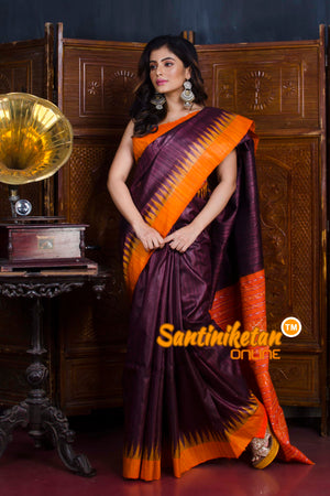 Traditional Gopalpur Tussar Ghicha Silk Saree SN20190573