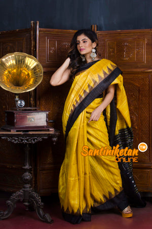 Traditional Gopalpur Tussar Ghicha Silk Saree SN20190576