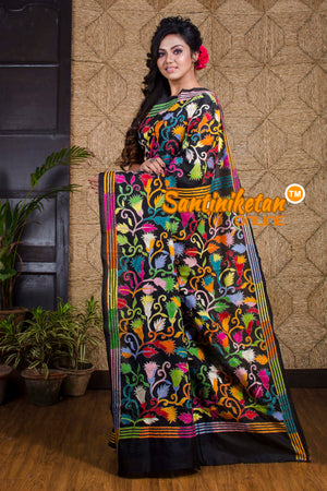 Kantha Stitch Saree SN20191991