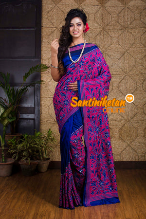Kantha Stitch Saree SN20192053