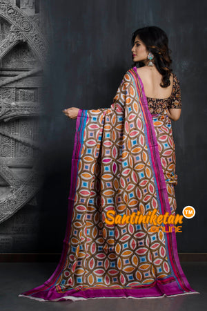 Kantha Stitch Saree SN20193347