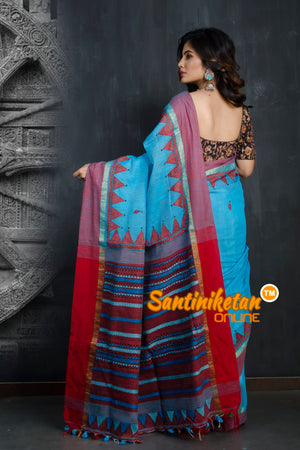 Handloom Cotton Kantha Saree SN20193368