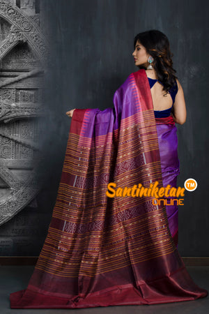 Traditional Gopalpur Tussar Silk Saree SN20193393