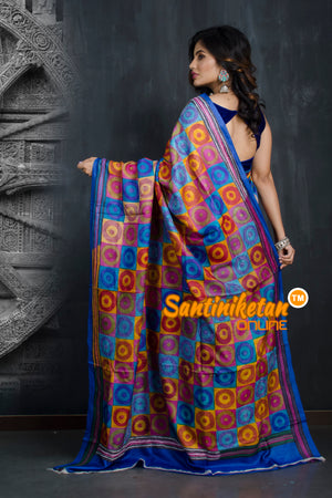 Kantha Stitch Saree SN20193414