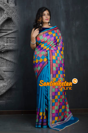 Kantha Stitch Saree SN20193420