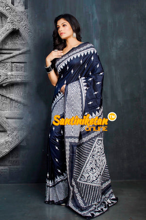 Kantha Stitch Saree SN20194323