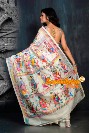 Kantha Stitch Saree SN20204335