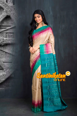 Traditional Gopalpur Tussar Ghicha Silk Saree SN20195497
