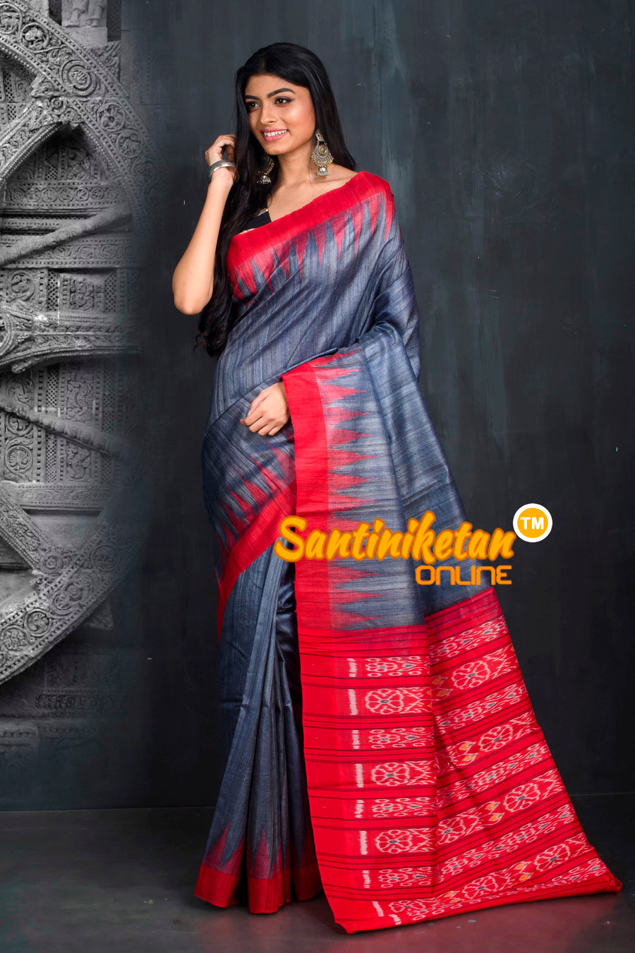 Traditional Gopalpur Tussar Ghicha Silk Saree SN20195506