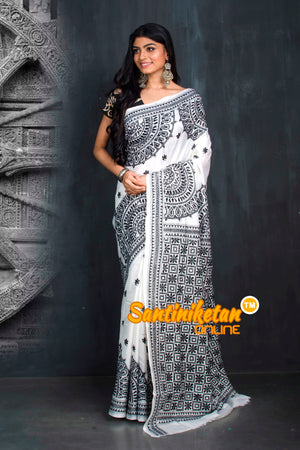 Kantha Stitch Saree SN20195512