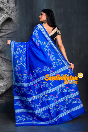 Hand Made Design On Murshidabad Silk SN20195563