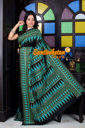 Kantha Stitch Saree SN20195688