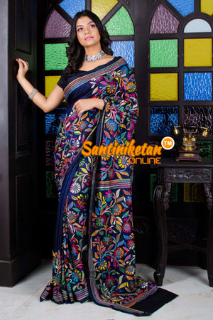 Kantha Stitch Saree SN20195699