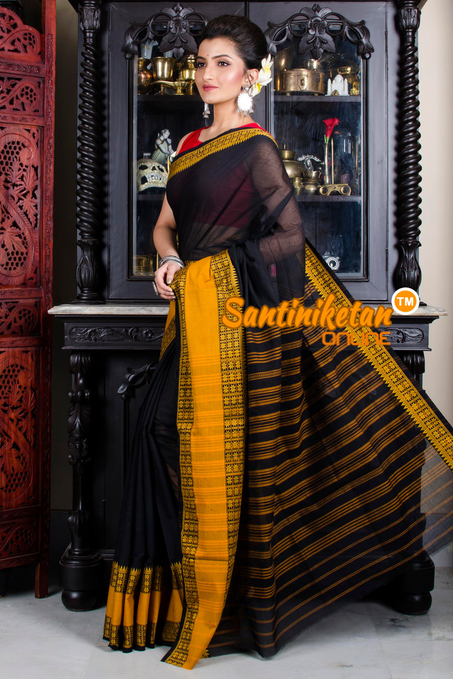 Pure Soft Cotton Begampuri Saree SN20195779