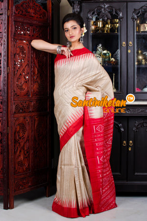 Traditional Gopalpur Tussar Ghicha Silk Saree SN20195792