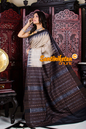 Traditional Gopalpur Tussar Ghicha Silk Saree SN20195811
