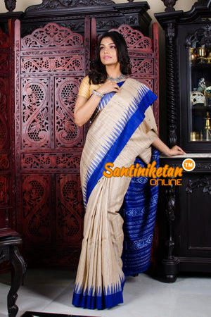 Traditional Gopalpur Tussar Ghicha Silk Saree SN20195817