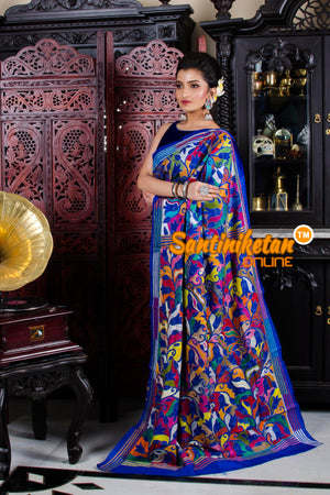 Kantha Stitch Saree SN20195826
