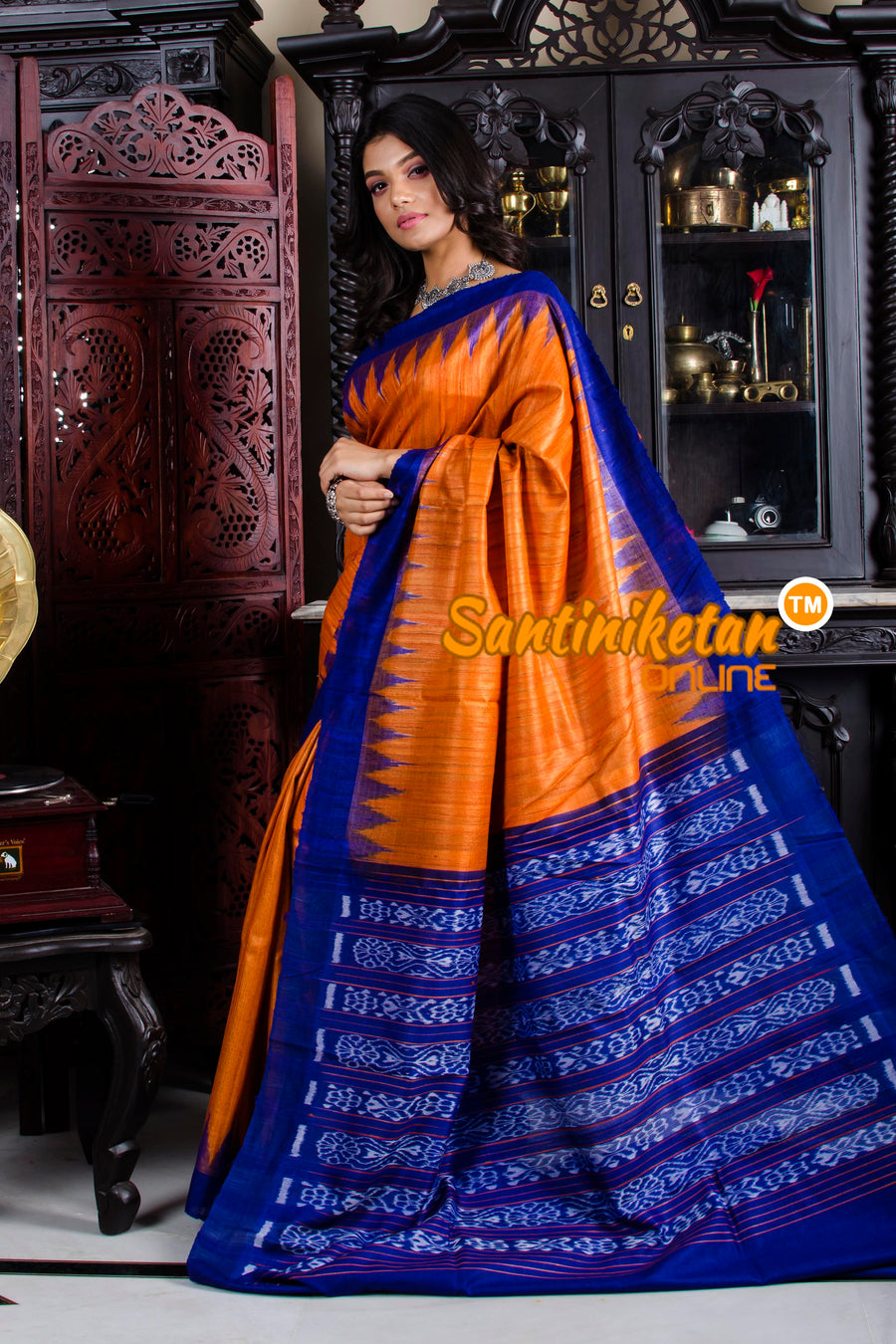 Traditional Gopalpur Tussar Ghicha Silk Saree SN20195832
