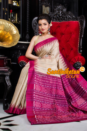 Traditional Gopalpur Tussar Ghicha Silk Saree SN20195919