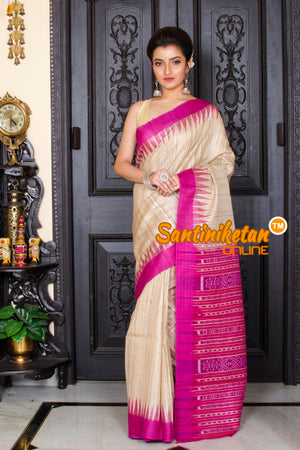 Traditional Gopalpur Tussar Ghicha Silk Saree SN20195940