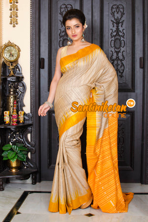 Traditional Gopalpur Tussar Ghicha Silk Saree SN20195946