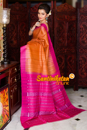 Traditional Gopalpur Tussar Ghicha Silk Saree SN20195957