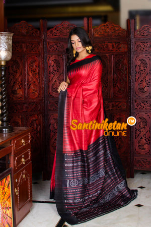 Traditional Gopalpur Tussar Ghicha Silk Saree SN20195972