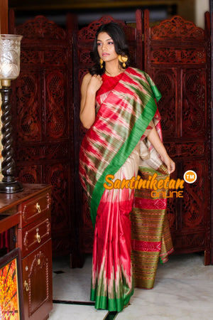 Traditional Gopalpur Tussar Ghicha Silk Saree SN20195976