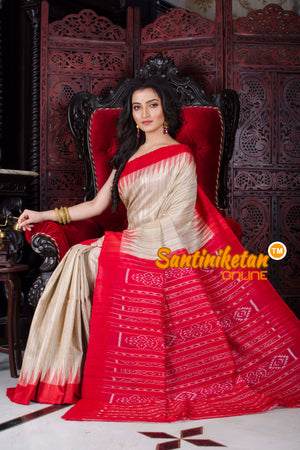 Traditional Gopalpur Tussar Ghicha Silk Saree SN20197254