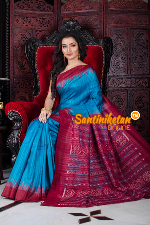 Traditional Gopalpur Tussar Ghicha Silk Saree SN20195790