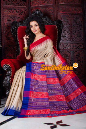 Traditional Gopalpur Ghicha Tussar Silk Saree SN20197262